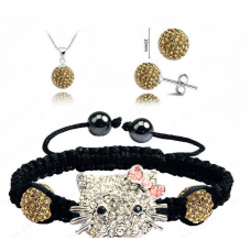 Hello Kitty Pezsgő Shamballa szett